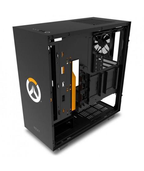 NZXT Boîtier PC H500  Overwatch - Edition limitée - ATX - 2 ventilateurs 120mm (CA-H500B-OW)