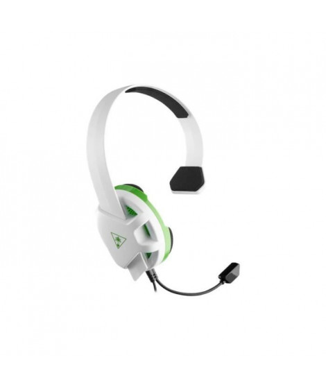 Turtle Beach - Casque Gamer - Recon Chat Blanc (compatible Xbox/PS4/PC/Switch/Mobile) - TBS-2409-02