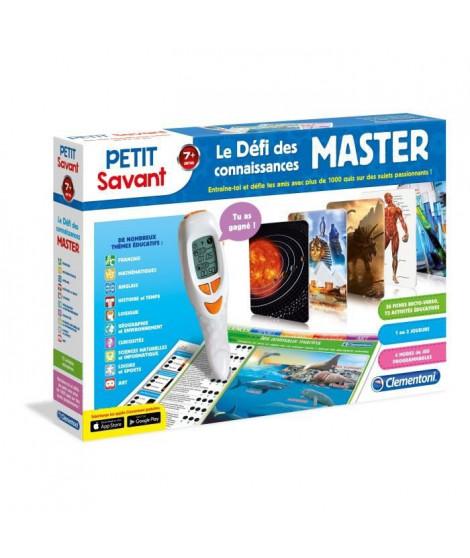 CLEMENTONI Petit Savant - Le Défi des Connaissances Master - 7 ans +
