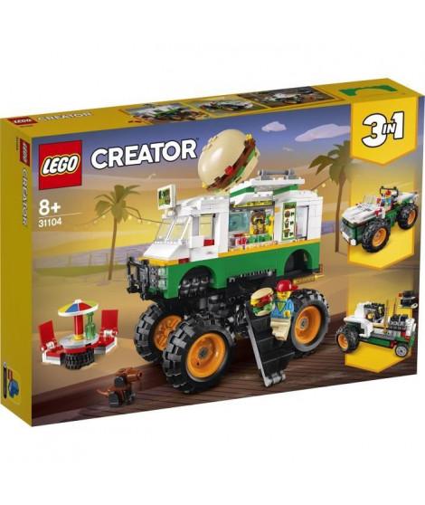 LEGO Creator 31104 Le Monster Truck a hamburgers