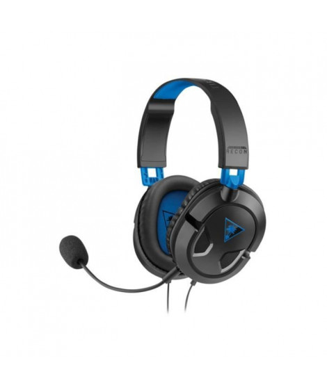 Turtle Beach - Casque Gamer - Recon 50P Noir (compatible PS4/Xbox/Switch/PC/Mobile) - TBS-3303-02