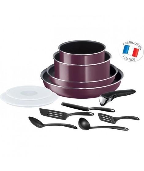 Ingenio Essential Violet Byzantium Batterie de cuisine 12 Pieces Tous Feux Sauf Induction L2019702