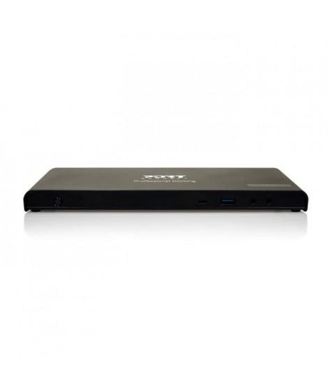 PORT Station d'accueil USB 3.0 901904-EU Type C pour Notebook - 7xPorts USB - 7xUSB 3.0 - RJ-45 - HDMI - DisplayPort - Microp…