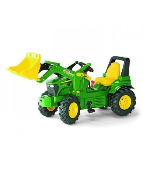 ROLLY TOYS Tracteur a pédales John Deere avec pelle