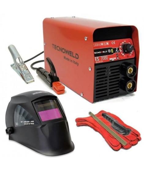 TECNOWELD Poste a souder Inverter 200 A avec mallette et accessoires