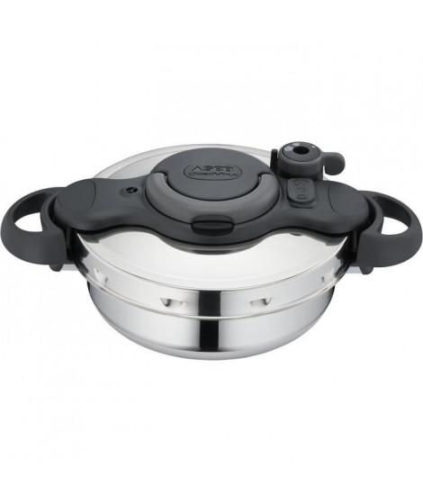 SEB Autocuiseur Clipsominut Duo Gourmet 5 L - Inox