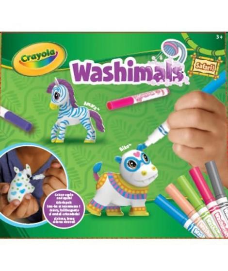 Washimals   - Mes Animaux a Colorier - Kit Safari 2