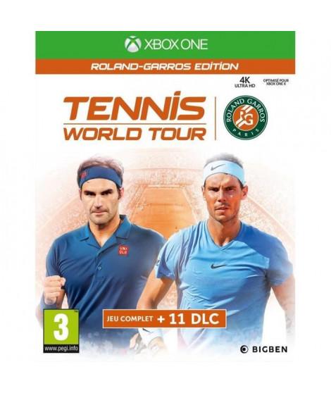 Tennis World Tour Roland Garros Jeu Xbox One