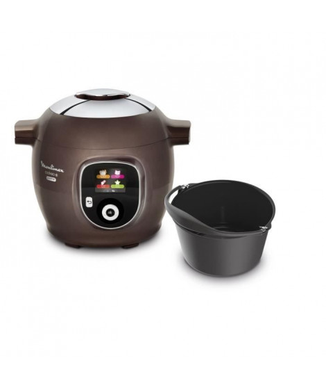 MOULINEX CE852900 Multicuiseur intelligent Cookeo 150 recettes préprogrammées - 6L + Un moule inclus