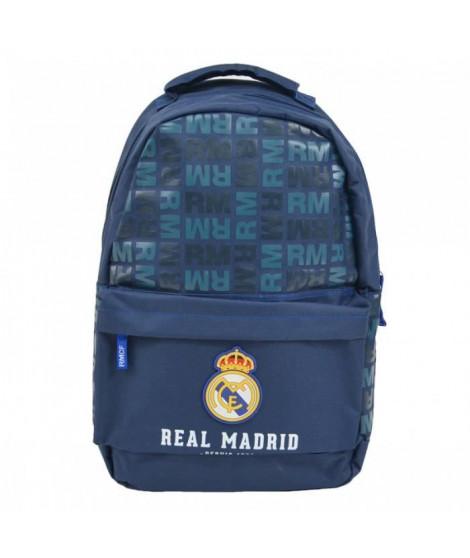 REAL MADRID Sac a dos - Un compartiment - 43 cm - Noir