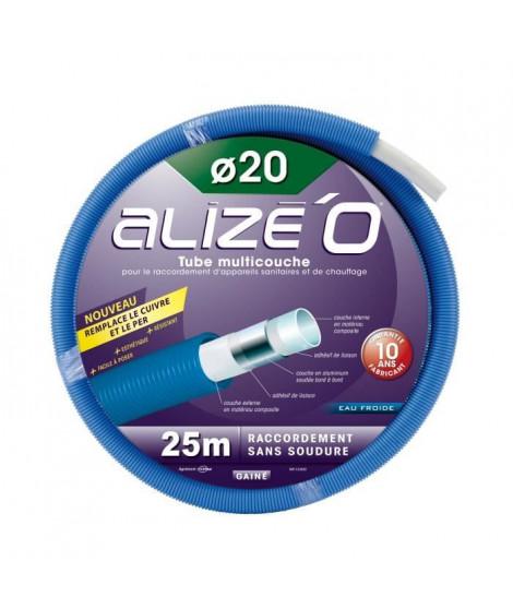DIPRA Tube multicouche gainé eau froide - Bleu Couronne 25m - D.20mm