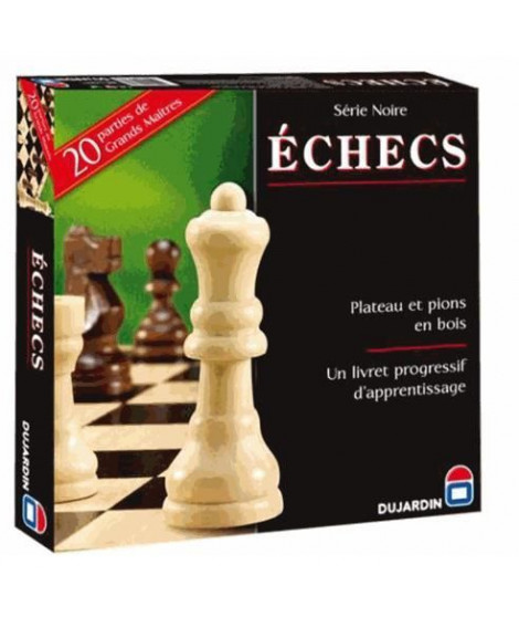 Echecs plateau Série Noire