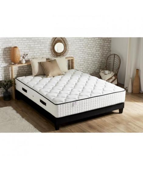CONFORT DESIGN Matelas Ressorts 140x190cm - 7 zones - 30cm - Tres Ferme - Hotel grand confort