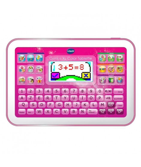 VTECH - Genius XL Color - Tablette Éducative Enfant - Rose