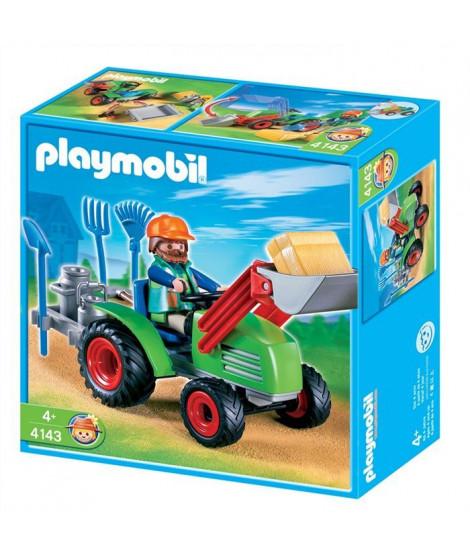 Playmobil Agriculteur avec tracteur 4143