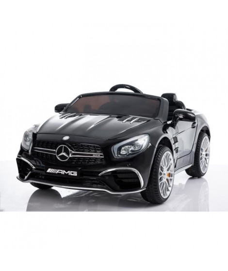 Voiture Electrique Enfant Mercedes SL 65 AMG - 12V - Roues gomme - MP3