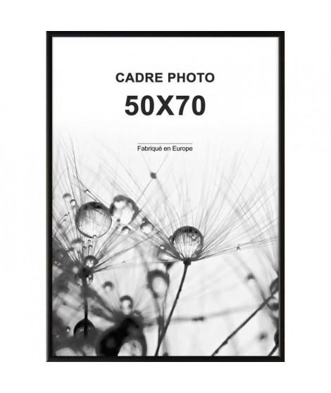 ALTANA Cadre photo 50x70 cm Noir mat