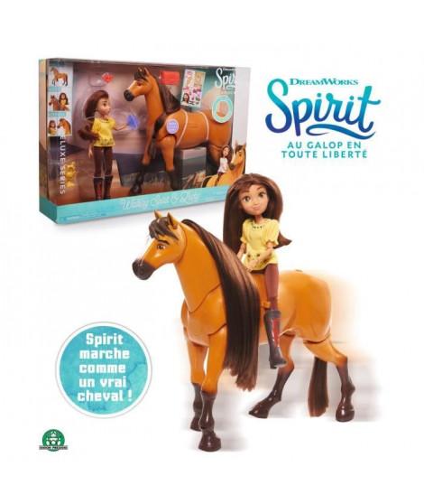 Spirit - Coffret Spirit qui Marche avec Poupée et Accessoires