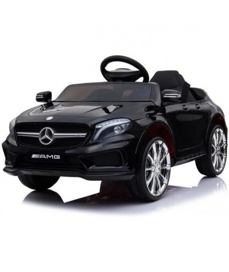 E-ROAD Mercedes GLA AMG - Noir peinture métalisée - 12V avec télécommande parentale