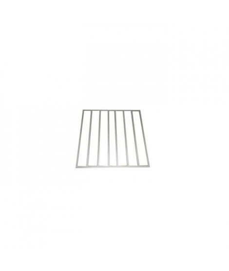 YARDMASTER Kit plancher pour abris métal 2,20 m²