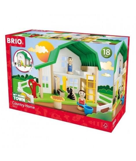 BRIO - My Home Town - Maison Des Fermiers - Jouet en bois