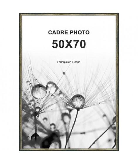 ALTANA Cadre photo 50x70 cm Or et noir