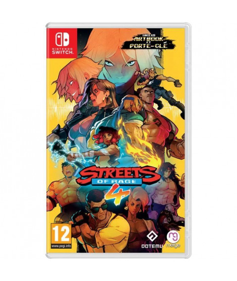 Streets of Rage 4 Jeu Nintendo Switch
