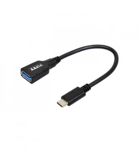PORTDESIGNS Connect - Adaptateur USB - USB type A (F) pour USB-C (M) - USB 3.0 - 15 cm