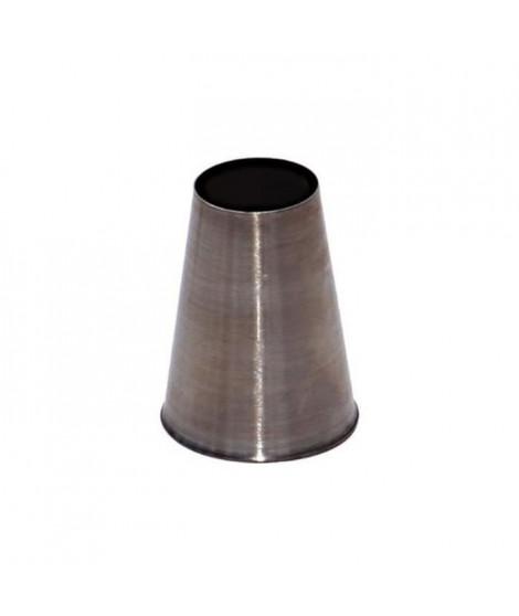 DE BUYER Douille unie - Inox - Diametre : 13 mm