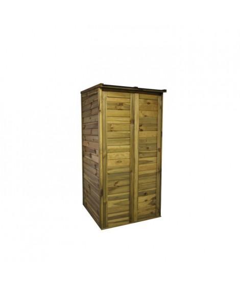 CHALET & JARDIN Armoire de jardin en bois Trocadero 1500 - Capacité 1500 L