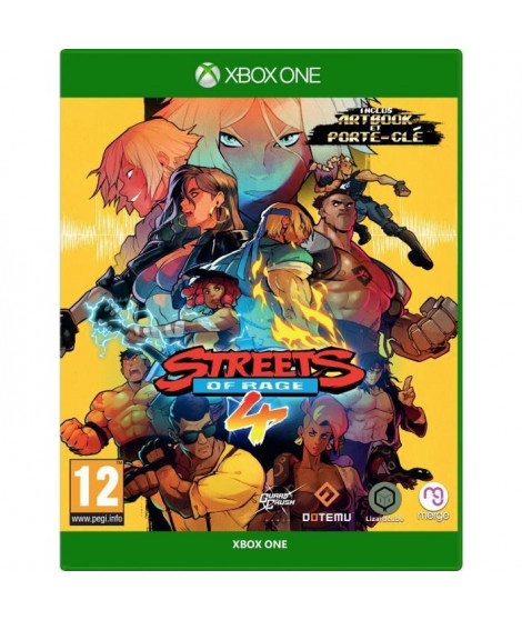 Streets of Rage 4 Jeu Xbox One