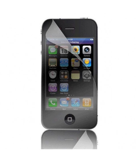 BIGBEN Lot de 2 films de protection Iphone 4