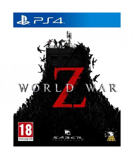 World War Z Jeu PS4