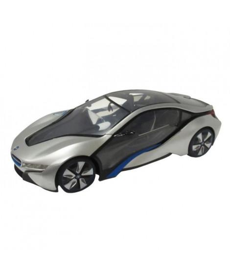 MONDO - BMW - Voiture télécommandée BMW I8 1:14 Grise - Mixte - A partir de 8 ans