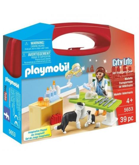 PLAYMOBIL 5653 - City Life - Valisette Vétérinaire - Nouveauté 2019