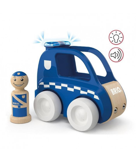 BRIO - My Home Town - Voiture De Police Son Et Lumiere