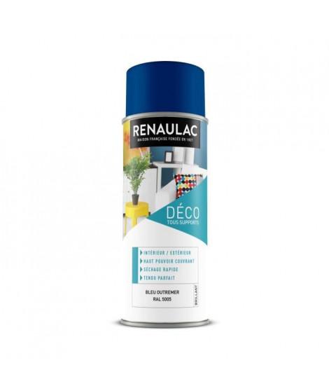 RENAULAC Peinture aérosol 0,4 L bleu outremer brillant