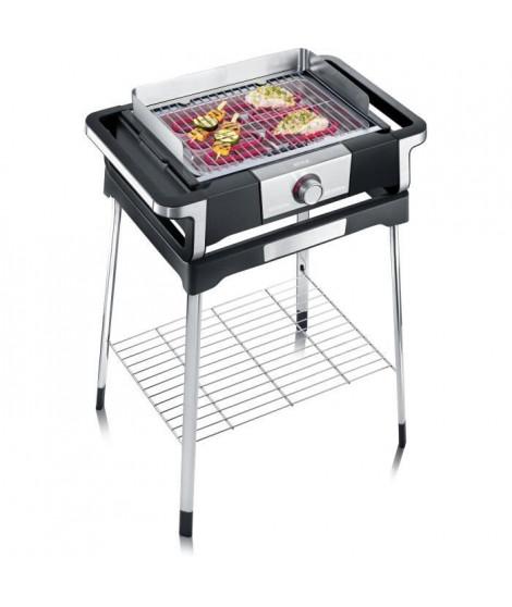SEVERIN PG8116 Barbecue sur pieds STYLE S - 2 500 W - de 0°C a 320°C en 10 min - bac a eau réducteur de fumée et d'odeurs - n…