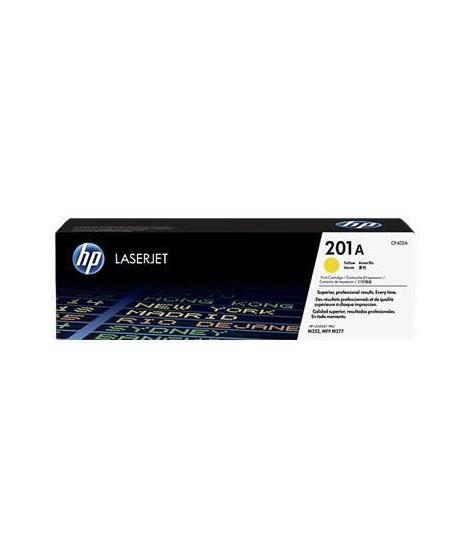 HP 201A toner LaserJet jaune authentique (CF402A) pour HP Color LaserJet Pro M252/M274/M277