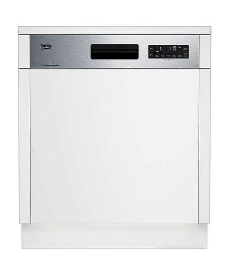 BEKO - DSN2842X - Lave-vaisselle - 60 cm - 14cvts - A++ - 9,5 L - Bandeau Inox