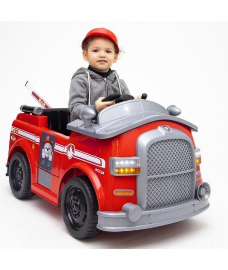 PAT PATROUILLE Voiture Electrique Camion de Pompier Marcus + Télécommande parentale
