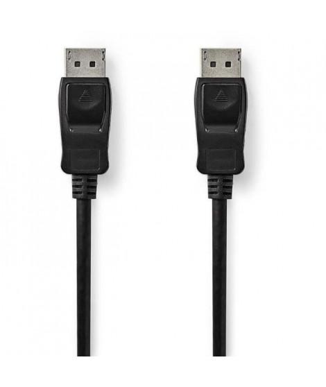 NEDIS DisplayPort 1.4 Cable - DisplayPort Male - DisplayPort Male - 3.00 m - Noir