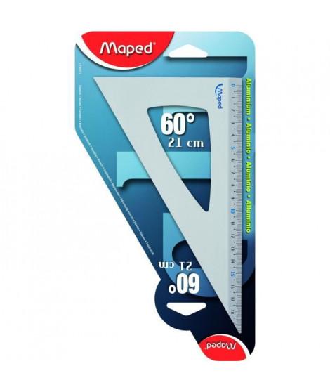 MAPED Equerre 60° Grand Côté - 21 cm