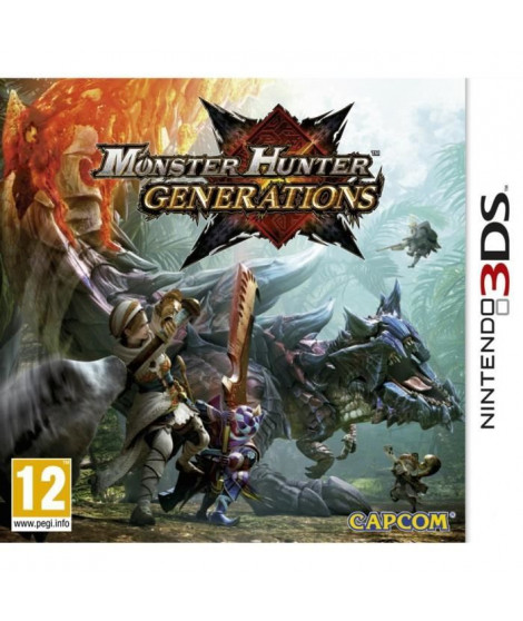 Monster Hunter Generations Jeu 3DS
