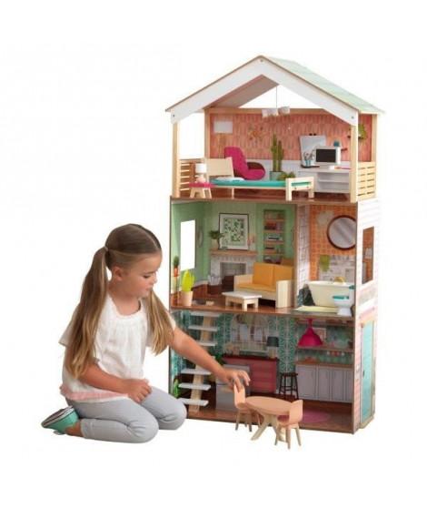 KIDKRAFT Maison de poupées en bois Dottie - 115cm