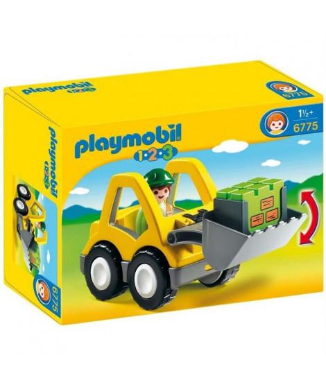 PLAYMOBIL 1.2.3. - 6775 - Chargeur Et Ouvrier