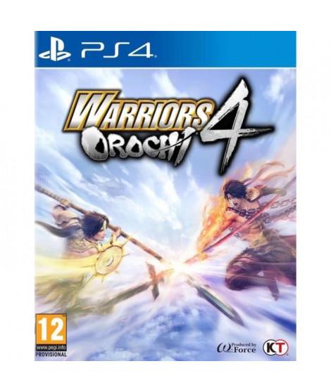 Warriors Orochi 4 Jeu PS4