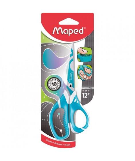 MAPED - Ciseaux asymetriques Zenoa fit - 15cm - Assortis