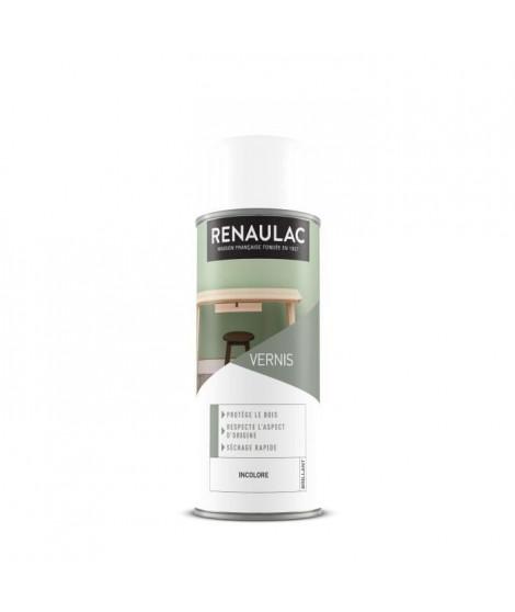 RENAULAC Peinture aérosol vernis 0,4 L incolore brillant