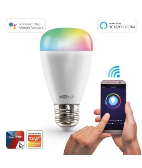 CALIBER HWL2101  Ampoule LED intelligente E27 blanc froid a blanc chaud et RGB multicolore contrôlée par App.